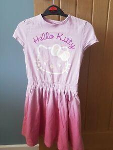 M&S Gorgeous Hello Kitty Dress Age 6-7