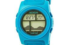 PRE-OWNED $95 Nixon Men's Rhythm Digital Japanese Quartz Blue Watch A385917