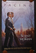 SCENT OF A WOMAN 1992 ORIGINAL DS 1 SHEET MOVIE POSTER AL PACINO CHRIS O'DONNELL