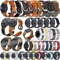 Leather Watch Bracelet Strap Band for Samsung Galaxy Watch 46mm SM-R800 /Gear S3