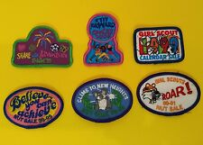 Girl Scout Patch Tiger Roar 98-99 00-01 1999 2000 2001 Nut Sale Cookie Calendar