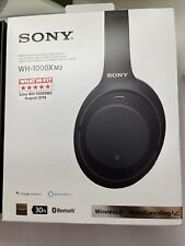 Sony WH-1000XM3 inalámbrico de auriculares con cancelación de ruido-Negro