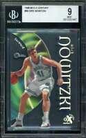 Dirk Nowizki Rookie Card 1998-99 E-X Century #68 BGS 9
