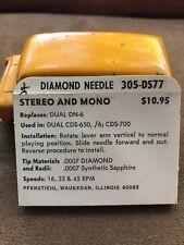 Vintage NOS Pfanstiehl Turntable Record Player Needle # 305-DS77