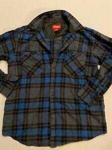 Coleman Button Down Shirt Men's Medium Plaid Long Sleeve Flannel