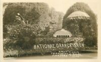 Float National 1926 Pasadena California Rose Parade RPPC Photo Postcard 11174