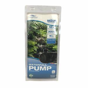 TotalPond 2000 GPH 10 ft. Fall Height Medium Waterfall Pump NEW