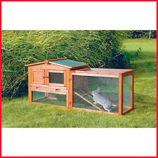 """[NO TAX] Trixie Rabbit Hutch with Outdoor Run, Cage (61"""" x 20.75"""" x 27.5"""")"""