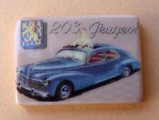 Fève Les Plaques Emaillées Peugeot - 2015 - Une Plaque