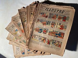 LIVRE ANCIEN MAGAZINE JOURNAL LE PETIT ILLUSTRÉ 1922 1923 1924 1 AU CHOIX RARE