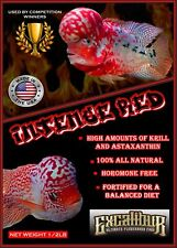 Excalibur Intense  Red Flowerhorn/srt food 1/2lb