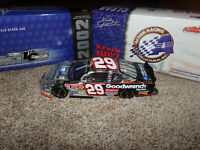 1/24 KEVIN HARVICK #29 GM GOODWRENCH SERVICE CLEARCAR 2002 ACTION NASCAR DIECAST