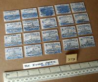 "20 Vintage Gibson Wargame Spare Parts ""Dover Patrol"" 1930s/40s Period.  (379)"