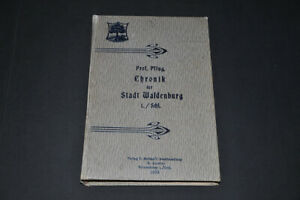 Chronik Waldenburg Schlesien 1908 Stadt Beschreibung Walbrzych Niederschlesien