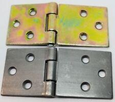 """3.187"""" - Steel Drop Leaf Table Hinge zinc leaves kitchen dining fold hardware"""