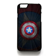 Captain America Shield Phone Case Cover For iPhone 4/4s 5/5s 6/6s iPod Touch