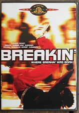 Breakin' (DVD, 2003) RARE OOP 1984 MUSICAL OFFICIAL MGM BRAND NEW