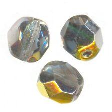 50 Perles Facettes cristal de boheme 4mm  CRISTAL MAREA