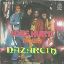 Single /  Nazareth  – Love Hurts / AUSTRIA PRESSUNG / RAR / VERTIGO SWIRL /