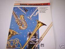 Yamaha Performance Folio Percussion 14 Full Band Compo