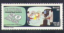 BRASILE 1989 TV/Fotocamera/programmi televisivi/Trasmissione/Entertainment 1 V n38242