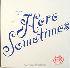 "BLONDE REDHEAD 12"" Here Sometimes Limited 4AD VINYL + PROMO"