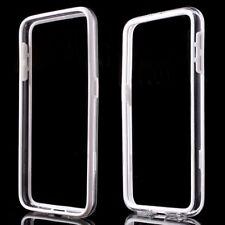 Samsung Galaxy s6 g920 TPU bumper Hybrid marco frame funda transparente blanco
