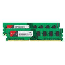 Kuesuny 8GB 2x 4GB PC3 10600U DDR3 1333Mhz Intel Desktop RAM Memory Unbuffered