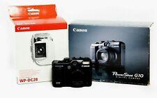 Canon PowerShot G10 14.7 MP Camera & Canon WP-DC28 Underwater Housing