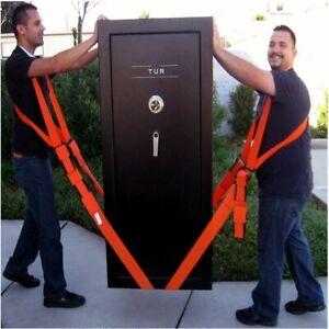 Lifting Moving Strap Furniture Transport Belt Useful In Shoulder Team Easier Con