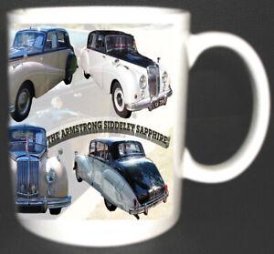ARMSTRONG SIDDELEY SAPHIRE CLASSIC CAR MUG LIMITED EDITION. 1952-1960