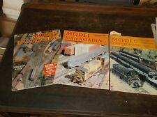 3 Model Railroading 1983 1984  Back Issue Magazines GUC