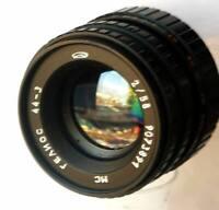 Rare MC Helios-44-3 Fast Portrait Lens, 2/58 M42 for Pentax + 2 Caps +Soft Case!