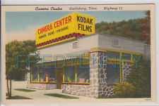 Linen Advertising - Kodak Camera Store - Gatlinburg TN - 1940s