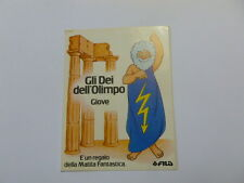 VECCHIO ADESIVO / Old Sticker COLORI GIOTTO MATITA FILA GIOVE (cm 7x10)