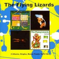 THE FLYING LIZARDS - THE FLYING LIZARDS/FOURTH WALL * USED - VERY GOOD CD
