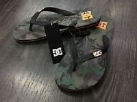 Dc infradito gomma Spray green camo orange  sandals mare piscina