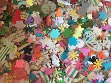 x200 Assorted PAPER PUNCH/ PUNCHIES BULK LOT - Craft/scrapbooking-Heart Flowers