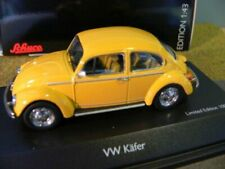 1/43 Schuco VW Käfer 1200 Sunny Bug gelb 450387500