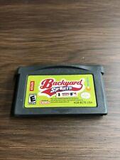 GBA - Backyard Sports: Baseball 2007 Nintendo Game Boy Advance 2006 Cart Only