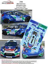 DECALS 1/43 REF 2108 Fiesta WRC BRUNSON RALLYE DU TOUQUET 2020 RALLY