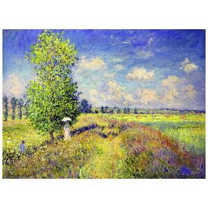 Claude Monet, The Summer Poppy Field Deco FRIDGE MAGNET, 1875 Fine Art Repro
