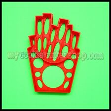 FRENCH FRIES FOOD COOKIE CUTTER - 5.5 x 8.5cm