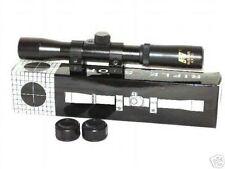 Markenzielfernrohr des Herstellers NCstar® 4x20 mit kompletter Montage .