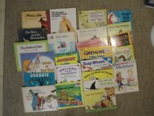 LARGE LOT OF 24 CHILDREN'S PICTURE BOOKS SOME VINTAGE VARIOUS AUTHORS & THEMES