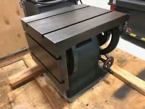 Radial Drill tilting table by Arboga- New !