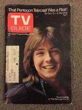 TV Guides-6-David Cassidy, 1971-Flip Wilson,1972-Pres. Nixon, 1972-Marcus Welby