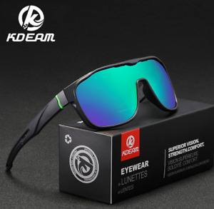 KDEAM Men Polarized Sport Sunglasses Outdoor Driving Riding Goggles Glasses New