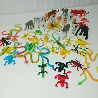Lot of  Plastic Farm, reptile and bugs PLAY toy ANIMALS