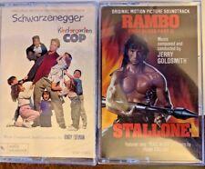 Kindergarten Cop & Rambo First Blood Pt 2 - 2 audiocassettes